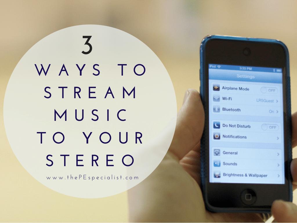 3 Ways to Stream Music
