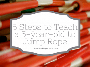 5 Steps to Jump Rope