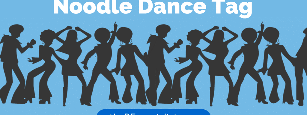My students FAVORITE tag game – Noodle Dance Tag!