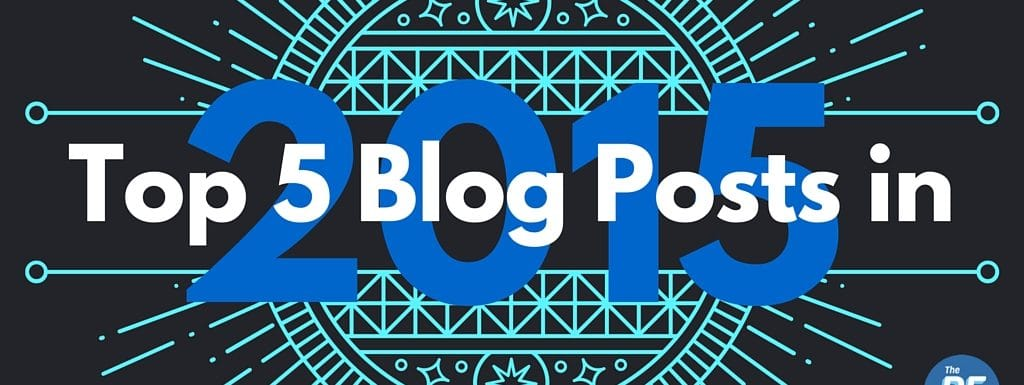My Top 5 Posts in 2015
