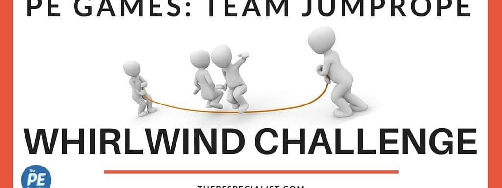 The Whirlwind Team Jump Rope Game