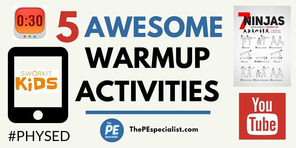5 Awesome Instant Activities – Great for PE Class Warmups