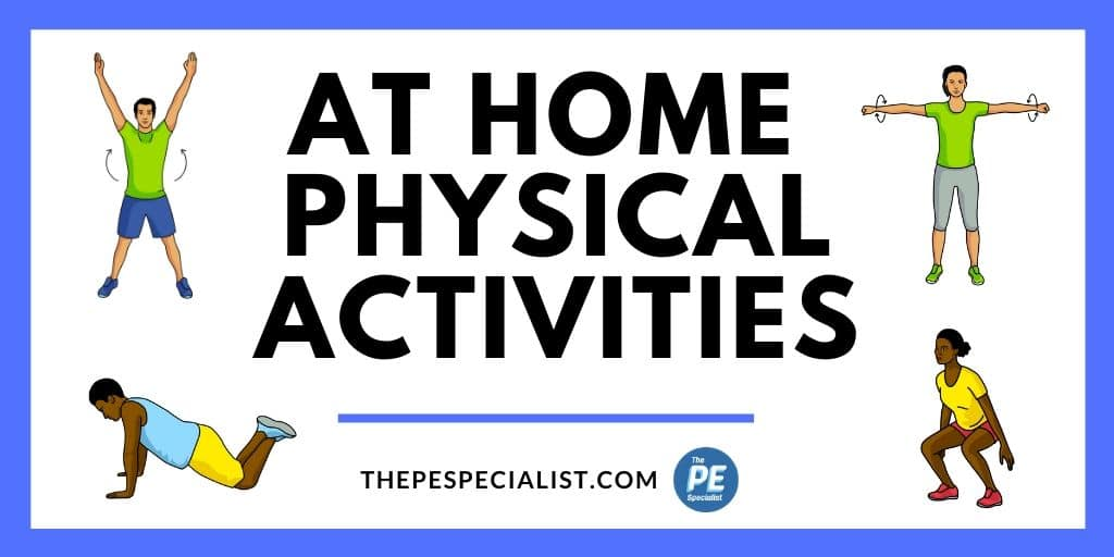 My Favorite At Home Physical Activity and Fitness Resources